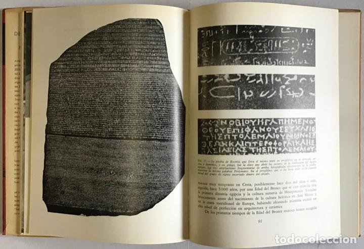 Libros antiguos: DE LA PINTURA RUPESTRE A LA HISTORIETA GRÁFICA. Un caleidoscopio de los medios humanos de expresión - Foto 5 - 123201048
