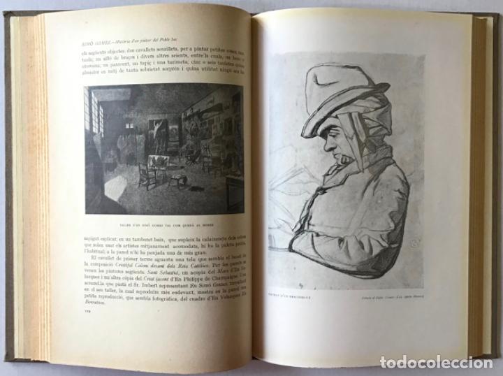 Libros antiguos: SIMÓ GOMEZ. Història verídica dun pintor del Poble Sec. - ELIAS, Feliu. - Foto 3 - 123184200