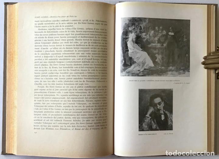 Libros antiguos: SIMÓ GOMEZ. Història verídica dun pintor del Poble Sec. - ELIAS, Feliu. - Foto 4 - 123184200