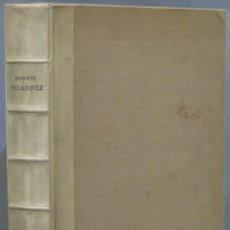 Libros antiguos: 1909.- VELAZQUEZ. BERUETE. Lote 218455352