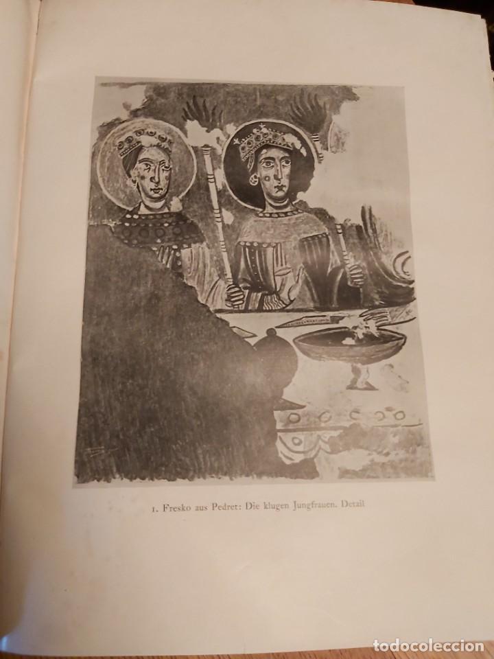 Libros antiguos: MITTELALTERLICHE MALEREI IN SPANIEN. RICHERT. PINTURA MEDIEVAL EN ESPAÑA. 1925. - Foto 4 - 218562200