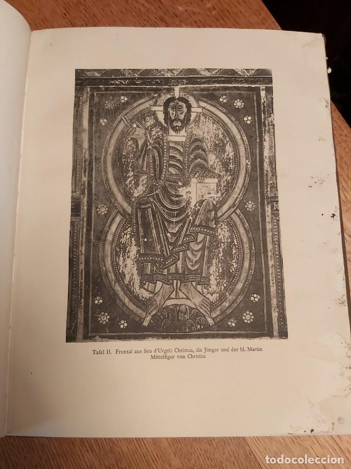 Libros antiguos: MITTELALTERLICHE MALEREI IN SPANIEN. RICHERT. PINTURA MEDIEVAL EN ESPAÑA. 1925. - Foto 5 - 218562200