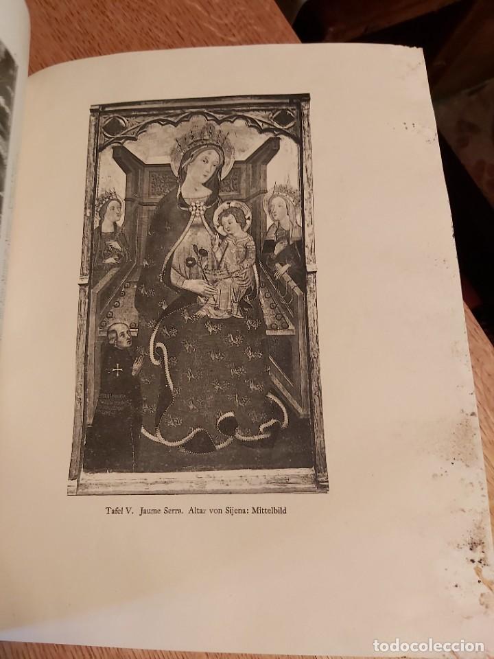 Libros antiguos: MITTELALTERLICHE MALEREI IN SPANIEN. RICHERT. PINTURA MEDIEVAL EN ESPAÑA. 1925. - Foto 6 - 218562200