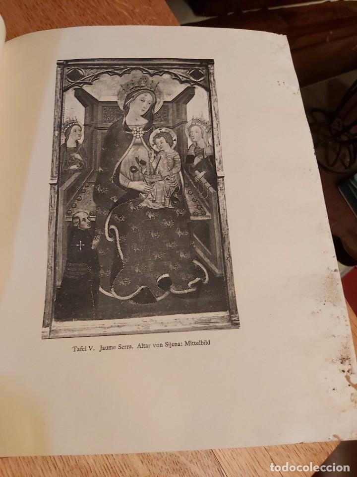 Libros antiguos: MITTELALTERLICHE MALEREI IN SPANIEN. RICHERT. PINTURA MEDIEVAL EN ESPAÑA. 1925. - Foto 7 - 218562200