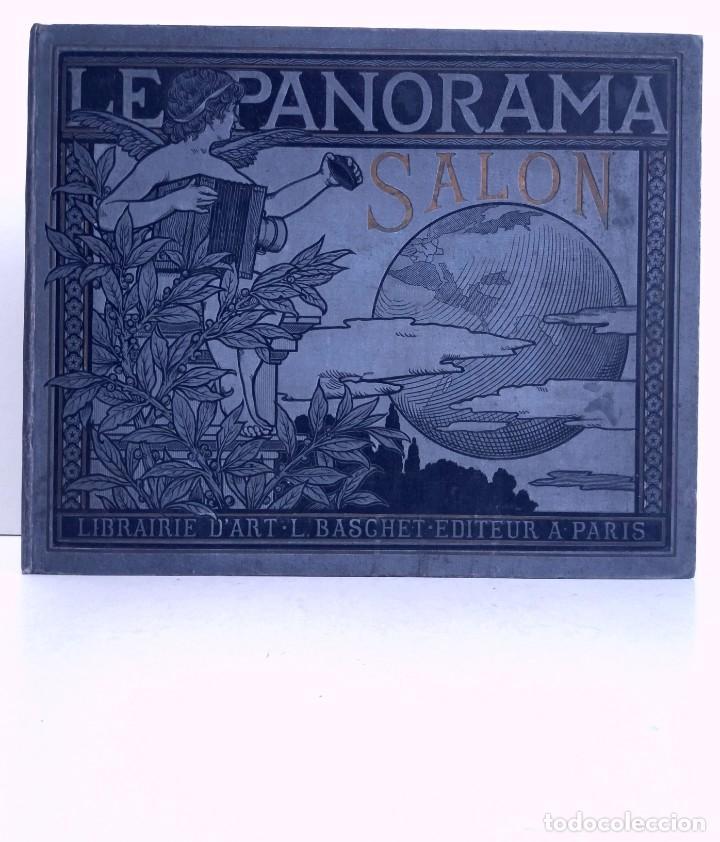 MARAVILLOSO ALBUM LE PANORAMA SALON PRECIOSOS CUADROS MAS DE 120 AÑOS GRAN FORMATO (Libros Antiguos, Raros y Curiosos - Bellas artes, ocio y coleccion - Pintura)