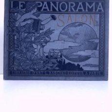 Libros antiguos: MARAVILLOSO ALBUM LE PANORAMA SALON PRECIOSOS CUADROS MAS DE 120 AÑOS GRAN FORMATO. Lote 220274280