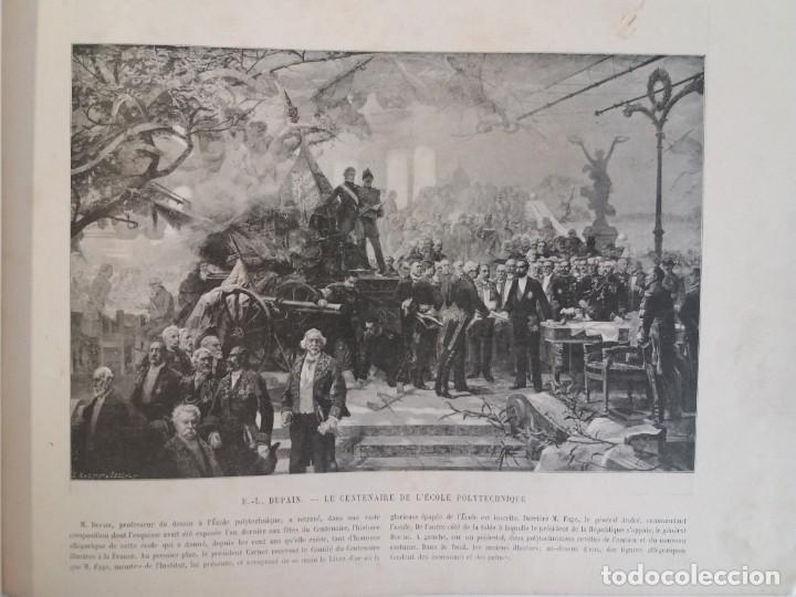 Libros antiguos: MARAVILLOSO ALBUM LE PANORAMA SALON PRECIOSOS CUADROS MAS DE 120 AÑOS GRAN FORMATO - Foto 3 - 220274280