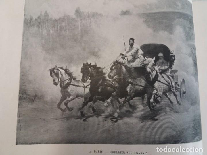 Libros antiguos: MARAVILLOSO ALBUM LE PANORAMA SALON PRECIOSOS CUADROS MAS DE 120 AÑOS GRAN FORMATO - Foto 4 - 220274280