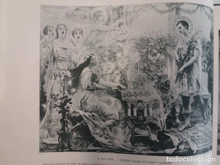 Libros antiguos: MARAVILLOSO ALBUM LE PANORAMA SALON PRECIOSOS CUADROS MAS DE 120 AÑOS GRAN FORMATO - Foto 8 - 220274280