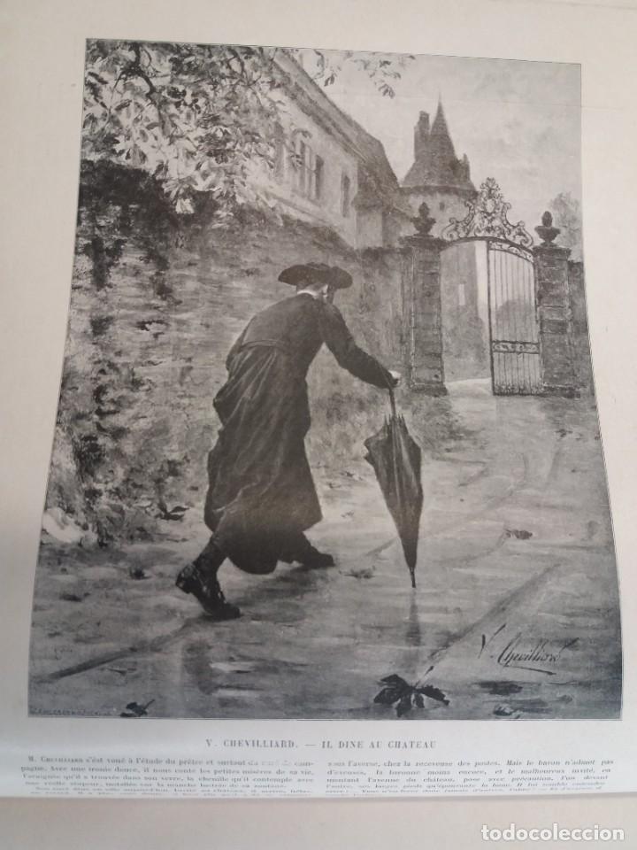 Libros antiguos: MARAVILLOSO ALBUM LE PANORAMA SALON PRECIOSOS CUADROS MAS DE 120 AÑOS GRAN FORMATO - Foto 12 - 220274280