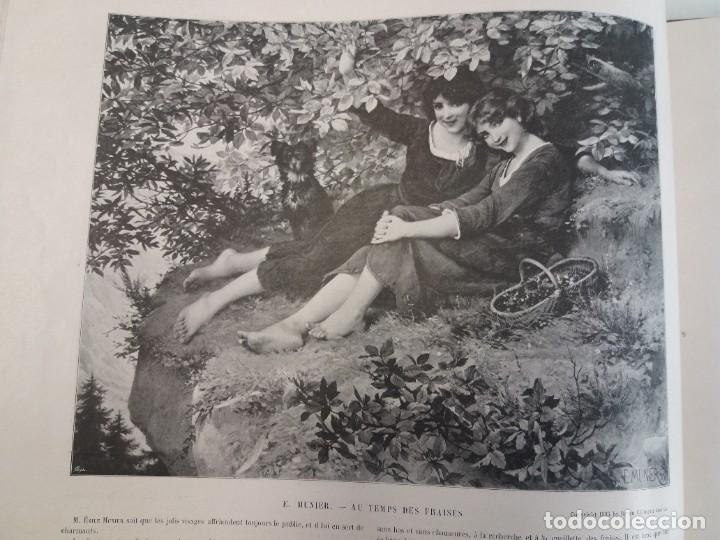 Libros antiguos: MARAVILLOSO ALBUM LE PANORAMA SALON PRECIOSOS CUADROS MAS DE 120 AÑOS GRAN FORMATO - Foto 14 - 220274280