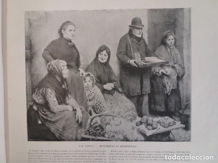 Libros antiguos: MARAVILLOSO ALBUM LE PANORAMA SALON PRECIOSOS CUADROS MAS DE 120 AÑOS GRAN FORMATO - Foto 15 - 220274280
