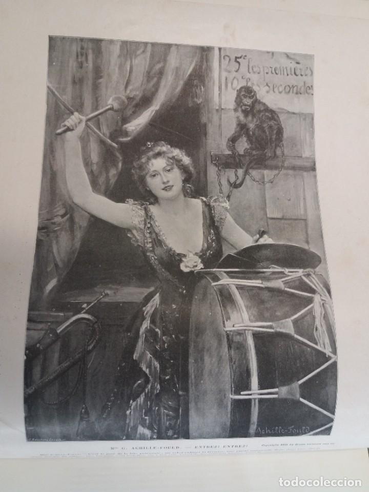 Libros antiguos: MARAVILLOSO ALBUM LE PANORAMA SALON PRECIOSOS CUADROS MAS DE 120 AÑOS GRAN FORMATO - Foto 18 - 220274280