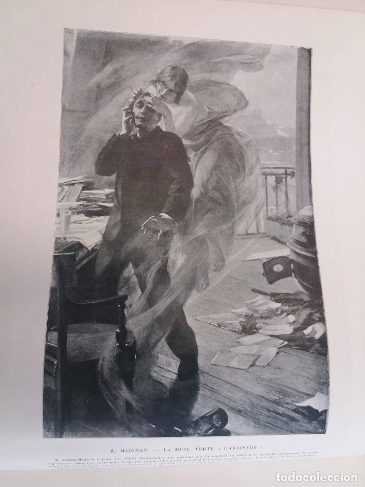 Libros antiguos: MARAVILLOSO ALBUM LE PANORAMA SALON PRECIOSOS CUADROS MAS DE 120 AÑOS GRAN FORMATO - Foto 20 - 220274280