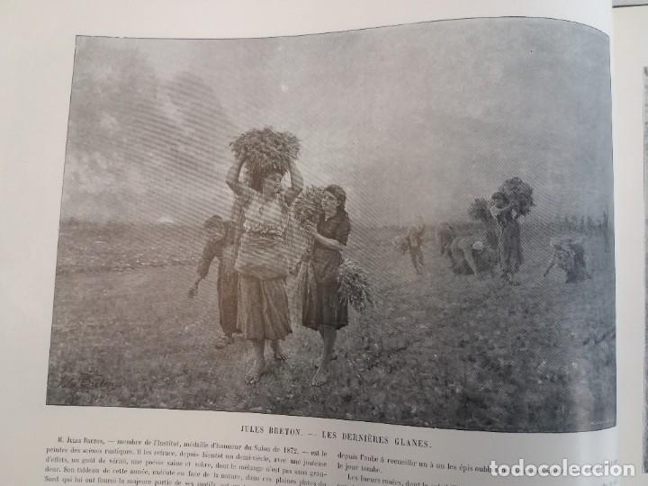 Libros antiguos: MARAVILLOSO ALBUM LE PANORAMA SALON PRECIOSOS CUADROS MAS DE 120 AÑOS GRAN FORMATO - Foto 22 - 220274280