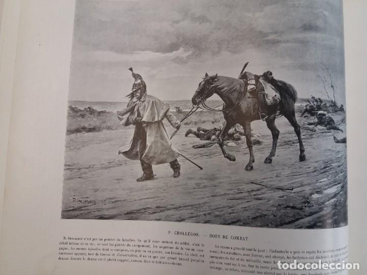 Libros antiguos: MARAVILLOSO ALBUM LE PANORAMA SALON PRECIOSOS CUADROS MAS DE 120 AÑOS GRAN FORMATO - Foto 24 - 220274280