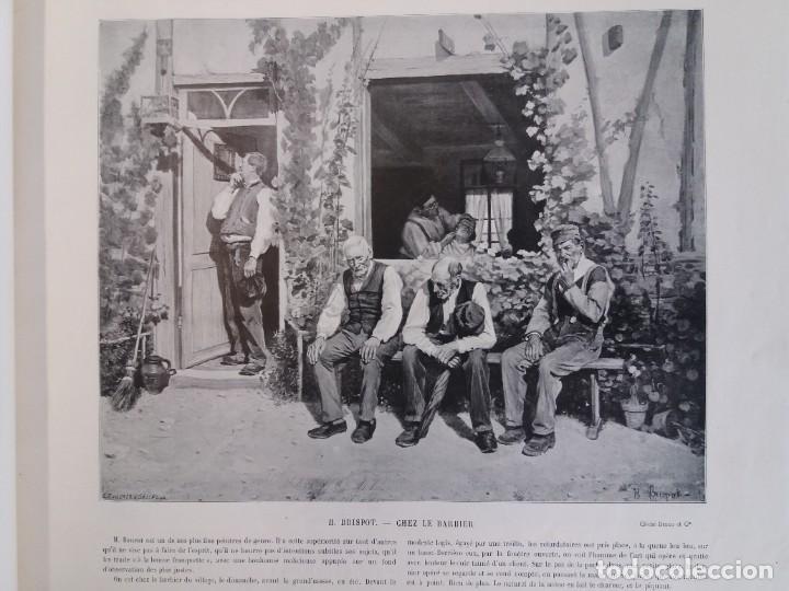 Libros antiguos: MARAVILLOSO ALBUM LE PANORAMA SALON PRECIOSOS CUADROS MAS DE 120 AÑOS GRAN FORMATO - Foto 25 - 220274280