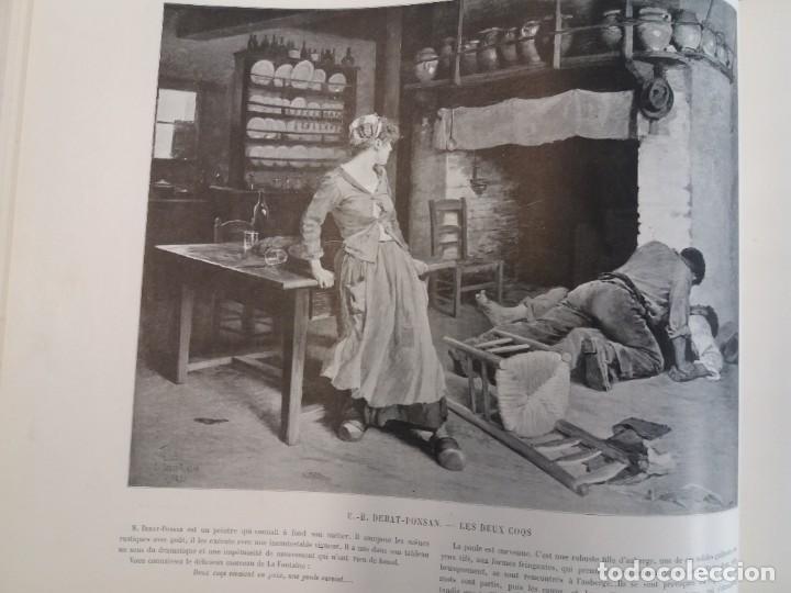 Libros antiguos: MARAVILLOSO ALBUM LE PANORAMA SALON PRECIOSOS CUADROS MAS DE 120 AÑOS GRAN FORMATO - Foto 26 - 220274280