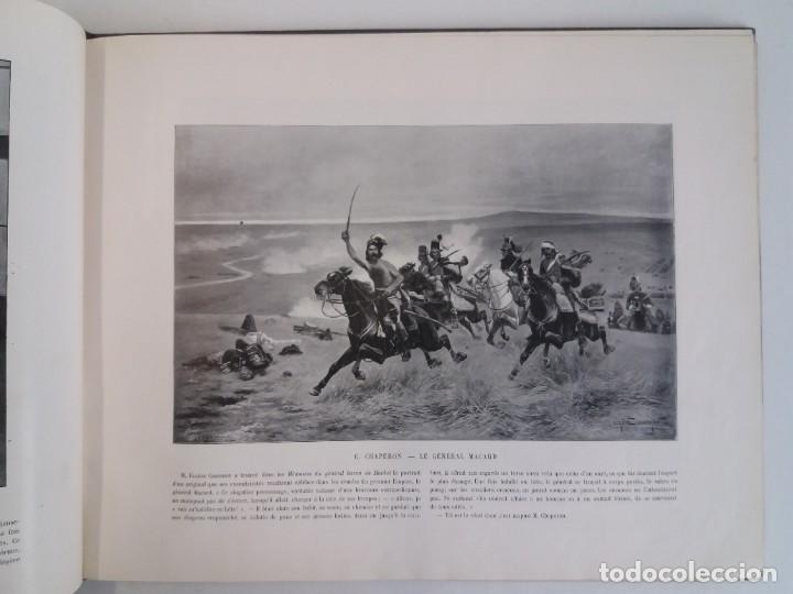 Libros antiguos: MARAVILLOSO ALBUM LE PANORAMA SALON PRECIOSOS CUADROS MAS DE 120 AÑOS GRAN FORMATO - Foto 29 - 220274280