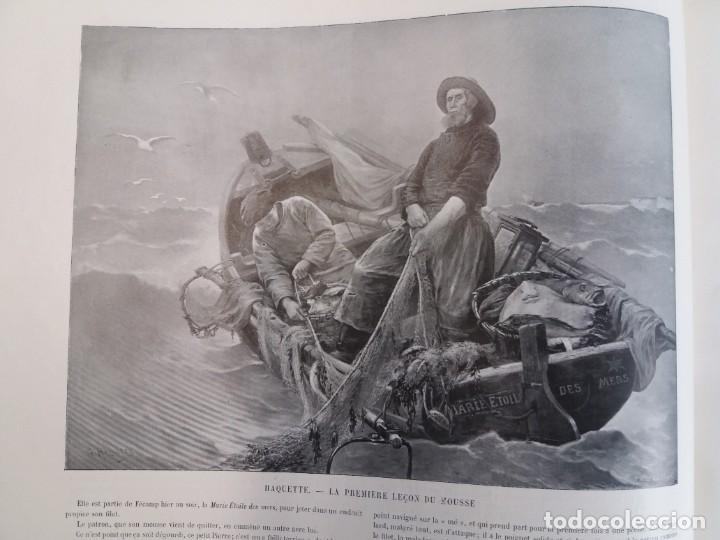 Libros antiguos: MARAVILLOSO ALBUM LE PANORAMA SALON PRECIOSOS CUADROS MAS DE 120 AÑOS GRAN FORMATO - Foto 30 - 220274280