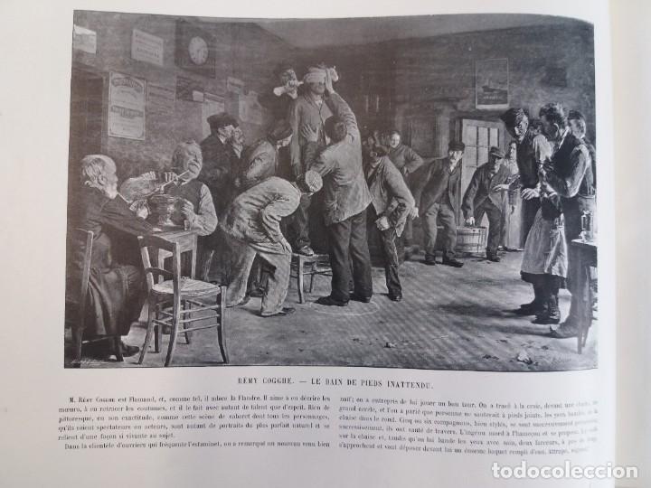 Libros antiguos: MARAVILLOSO ALBUM LE PANORAMA SALON PRECIOSOS CUADROS MAS DE 120 AÑOS GRAN FORMATO - Foto 32 - 220274280