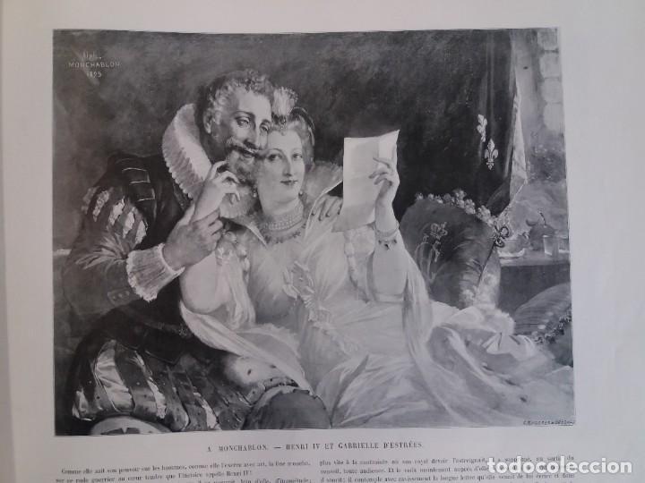 Libros antiguos: MARAVILLOSO ALBUM LE PANORAMA SALON PRECIOSOS CUADROS MAS DE 120 AÑOS GRAN FORMATO - Foto 35 - 220274280