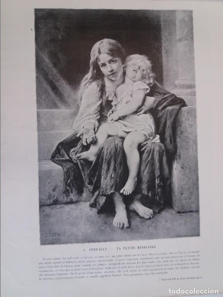 Libros antiguos: MARAVILLOSO ALBUM LE PANORAMA SALON PRECIOSOS CUADROS MAS DE 120 AÑOS GRAN FORMATO - Foto 37 - 220274280