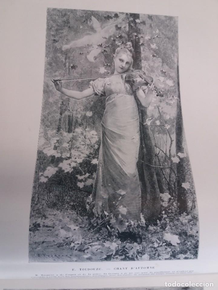 Libros antiguos: MARAVILLOSO ALBUM LE PANORAMA SALON PRECIOSOS CUADROS MAS DE 120 AÑOS GRAN FORMATO - Foto 38 - 220274280