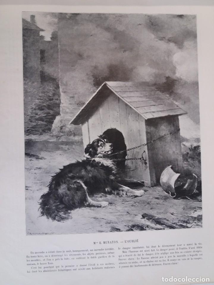 Libros antiguos: MARAVILLOSO ALBUM LE PANORAMA SALON PRECIOSOS CUADROS MAS DE 120 AÑOS GRAN FORMATO - Foto 39 - 220274280
