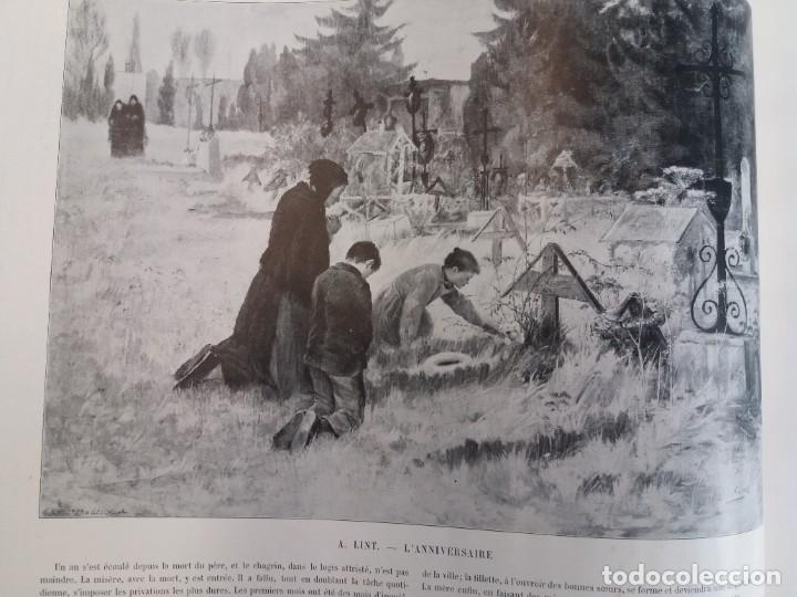 Libros antiguos: MARAVILLOSO ALBUM LE PANORAMA SALON PRECIOSOS CUADROS MAS DE 120 AÑOS GRAN FORMATO - Foto 40 - 220274280