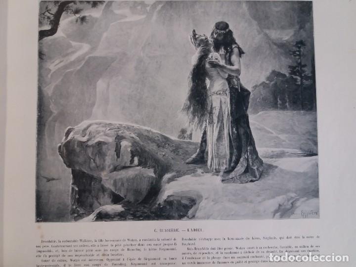 Libros antiguos: MARAVILLOSO ALBUM LE PANORAMA SALON PRECIOSOS CUADROS MAS DE 120 AÑOS GRAN FORMATO - Foto 41 - 220274280