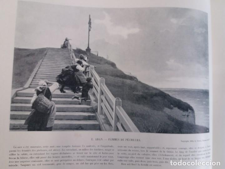 Libros antiguos: MARAVILLOSO ALBUM LE PANORAMA SALON PRECIOSOS CUADROS MAS DE 120 AÑOS GRAN FORMATO - Foto 44 - 220274280