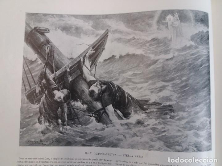 Libros antiguos: MARAVILLOSO ALBUM LE PANORAMA SALON PRECIOSOS CUADROS MAS DE 120 AÑOS GRAN FORMATO - Foto 48 - 220274280