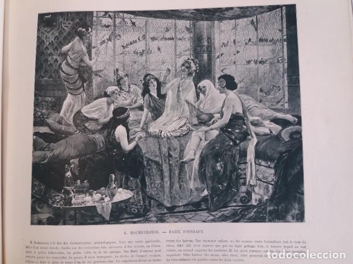 Libros antiguos: MARAVILLOSO ALBUM LE PANORAMA SALON PRECIOSOS CUADROS MAS DE 120 AÑOS GRAN FORMATO - Foto 49 - 220274280