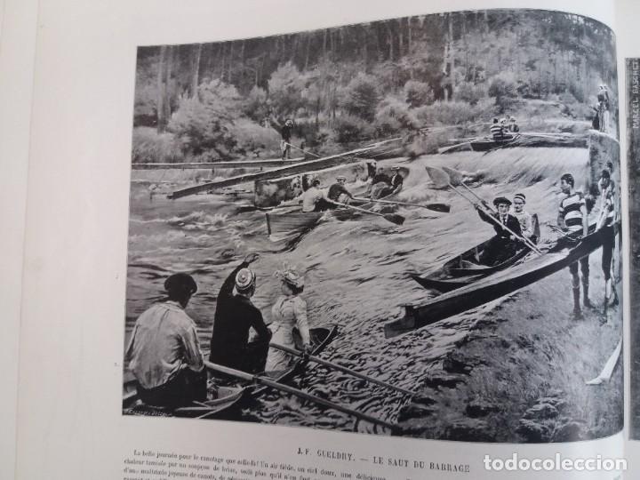 Libros antiguos: MARAVILLOSO ALBUM LE PANORAMA SALON PRECIOSOS CUADROS MAS DE 120 AÑOS GRAN FORMATO - Foto 50 - 220274280
