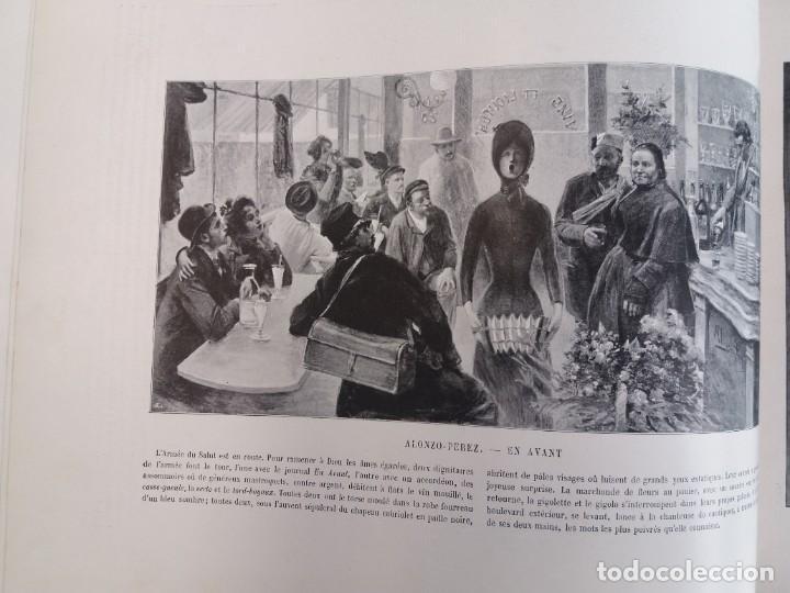 Libros antiguos: MARAVILLOSO ALBUM LE PANORAMA SALON PRECIOSOS CUADROS MAS DE 120 AÑOS GRAN FORMATO - Foto 52 - 220274280