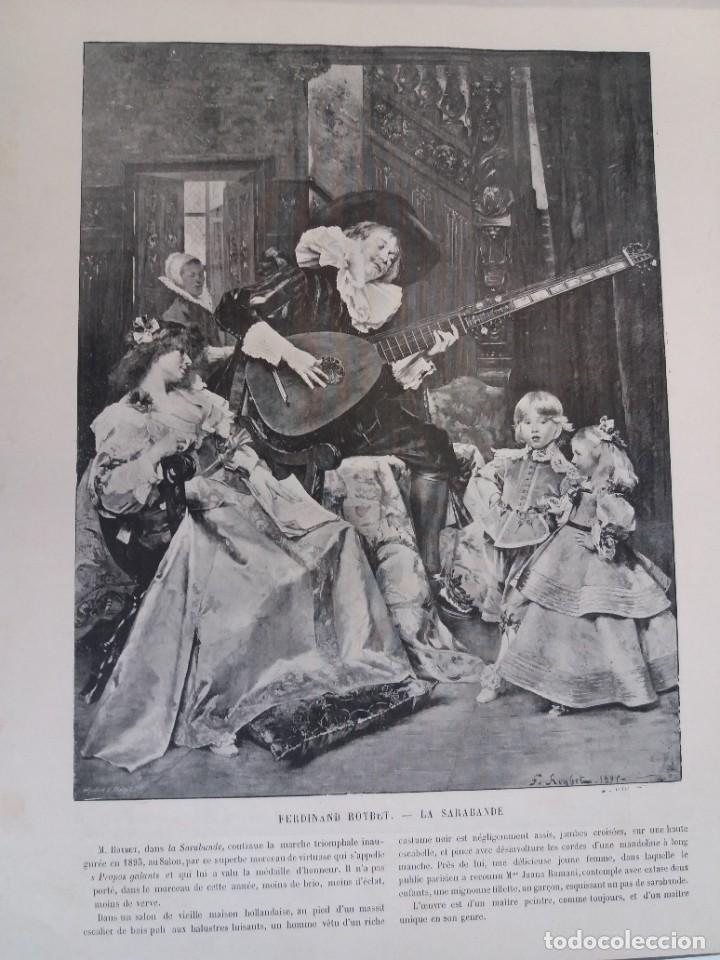 Libros antiguos: MARAVILLOSO ALBUM LE PANORAMA SALON PRECIOSOS CUADROS MAS DE 120 AÑOS GRAN FORMATO - Foto 53 - 220274280