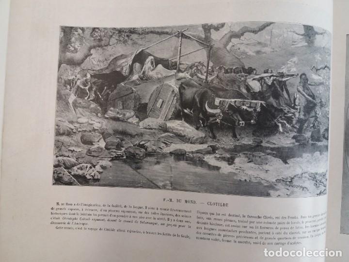 Libros antiguos: MARAVILLOSO ALBUM LE PANORAMA SALON PRECIOSOS CUADROS MAS DE 120 AÑOS GRAN FORMATO - Foto 54 - 220274280