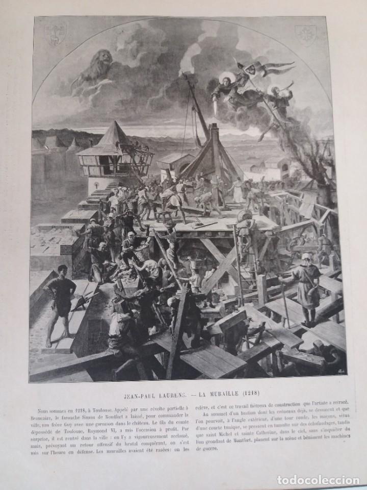 Libros antiguos: MARAVILLOSO ALBUM LE PANORAMA SALON PRECIOSOS CUADROS MAS DE 120 AÑOS GRAN FORMATO - Foto 55 - 220274280