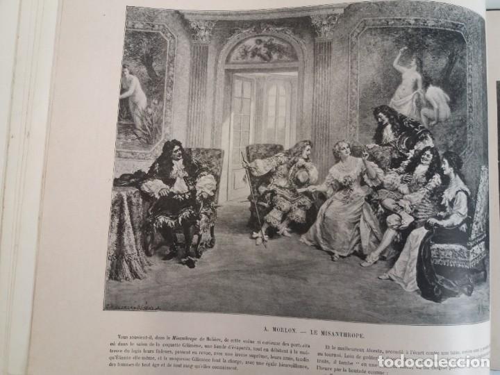 Libros antiguos: MARAVILLOSO ALBUM LE PANORAMA SALON PRECIOSOS CUADROS MAS DE 120 AÑOS GRAN FORMATO - Foto 56 - 220274280