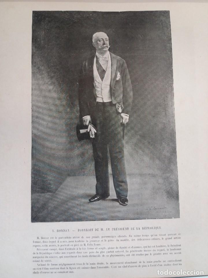 Libros antiguos: MARAVILLOSO ALBUM LE PANORAMA SALON PRECIOSOS CUADROS MAS DE 120 AÑOS GRAN FORMATO - Foto 57 - 220274280