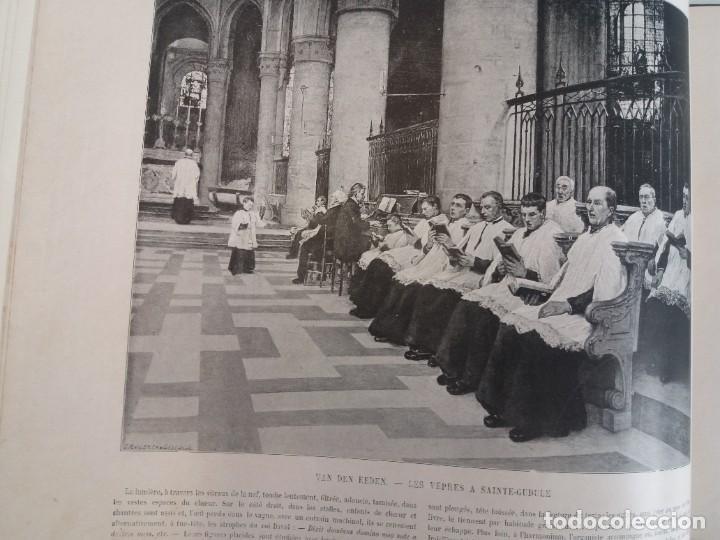 Libros antiguos: MARAVILLOSO ALBUM LE PANORAMA SALON PRECIOSOS CUADROS MAS DE 120 AÑOS GRAN FORMATO - Foto 58 - 220274280