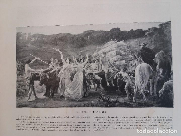 Libros antiguos: MARAVILLOSO ALBUM LE PANORAMA SALON PRECIOSOS CUADROS MAS DE 120 AÑOS GRAN FORMATO - Foto 59 - 220274280