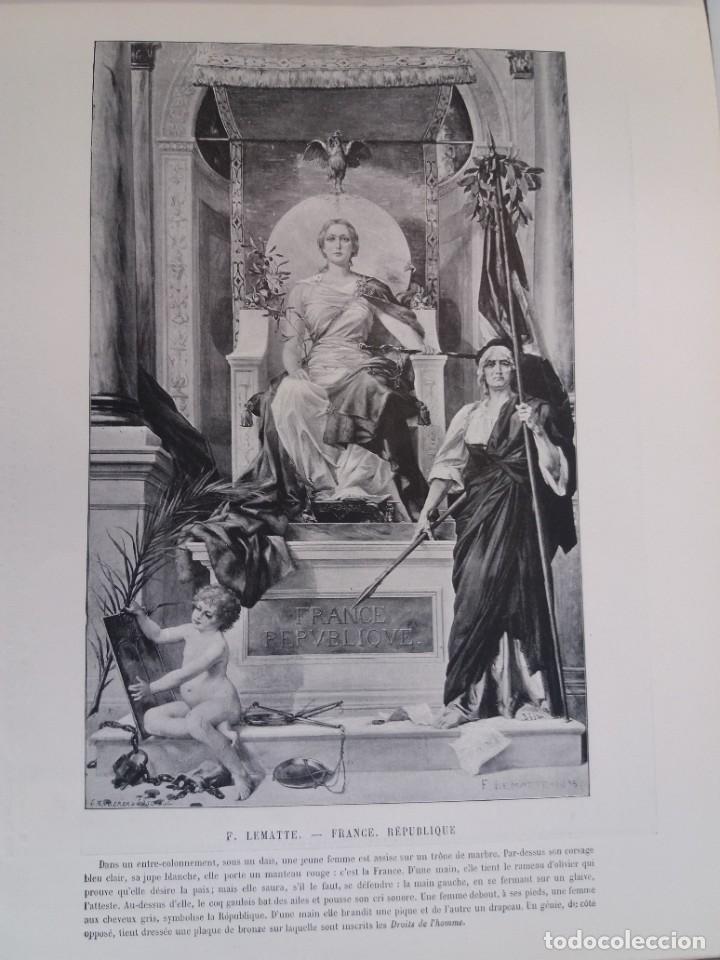 Libros antiguos: MARAVILLOSO ALBUM LE PANORAMA SALON PRECIOSOS CUADROS MAS DE 120 AÑOS GRAN FORMATO - Foto 61 - 220274280