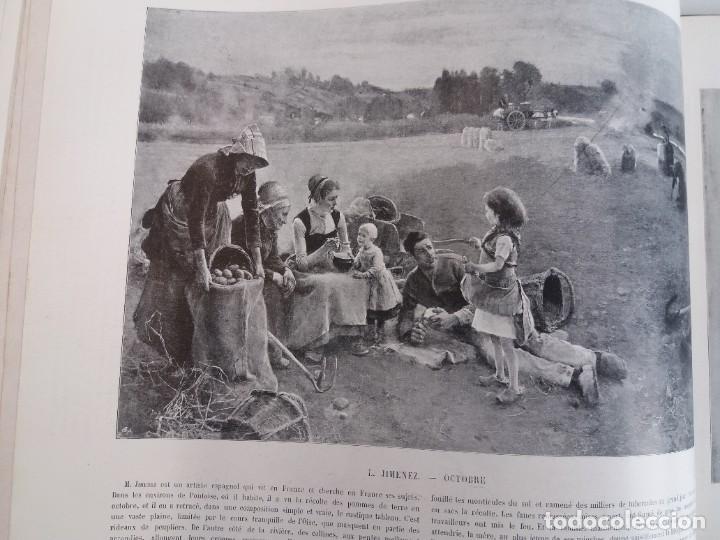 Libros antiguos: MARAVILLOSO ALBUM LE PANORAMA SALON PRECIOSOS CUADROS MAS DE 120 AÑOS GRAN FORMATO - Foto 62 - 220274280
