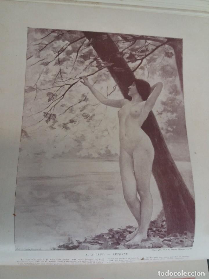 Libros antiguos: MARAVILLOSO ALBUM LE PANORAMA SALON PRECIOSOS CUADROS MAS DE 120 AÑOS GRAN FORMATO - Foto 66 - 220274280