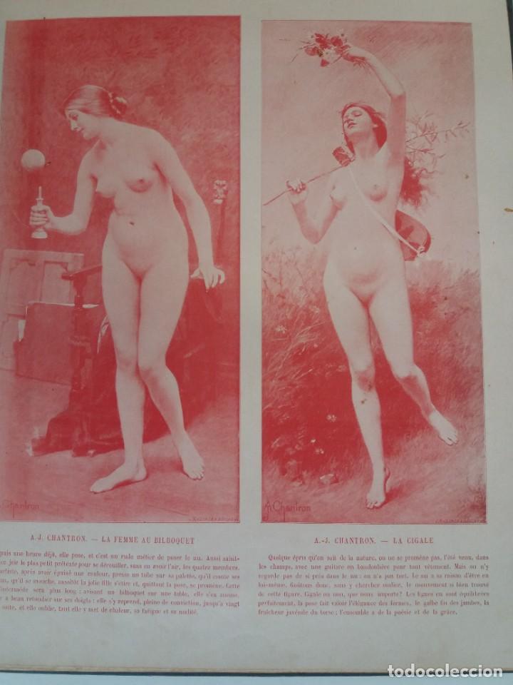 Libros antiguos: MARAVILLOSO ALBUM LE PANORAMA SALON PRECIOSOS CUADROS MAS DE 120 AÑOS GRAN FORMATO - Foto 67 - 220274280
