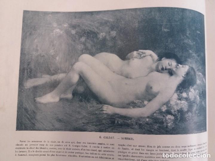 Libros antiguos: MARAVILLOSO ALBUM LE PANORAMA SALON PRECIOSOS CUADROS MAS DE 120 AÑOS GRAN FORMATO - Foto 68 - 220274280