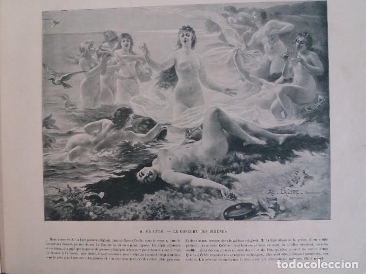 Libros antiguos: MARAVILLOSO ALBUM LE PANORAMA SALON PRECIOSOS CUADROS MAS DE 120 AÑOS GRAN FORMATO - Foto 69 - 220274280