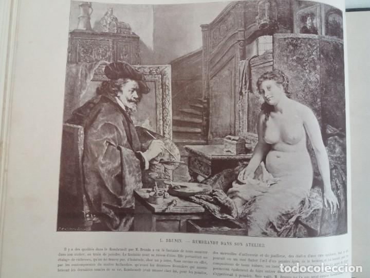 Libros antiguos: MARAVILLOSO ALBUM LE PANORAMA SALON PRECIOSOS CUADROS MAS DE 120 AÑOS GRAN FORMATO - Foto 70 - 220274280